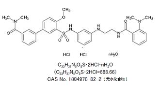 YNT-185 · 2HCl