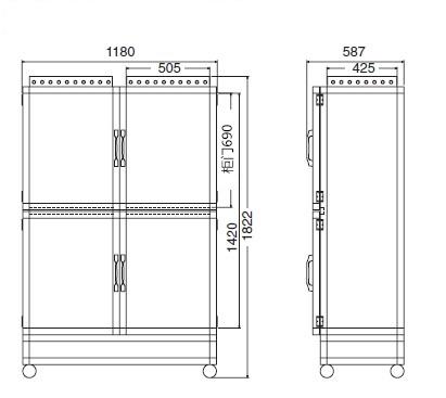大型干燥柜 ALW自动型