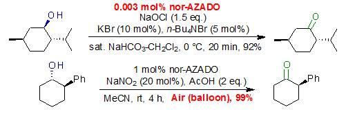 用于醇类氧化的超高活性有机催化剂nor-AZADO