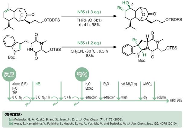 NBS(N-溴代丁二酰亚胺)氧化