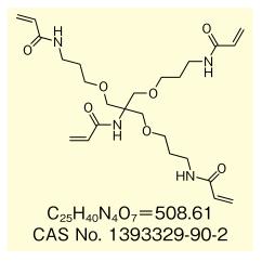 水溶性高硬化性丙烯酰胺单体