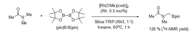 硅胶负载型篮式结构催化剂